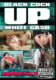 Black Cock Up White Gash Box Cover