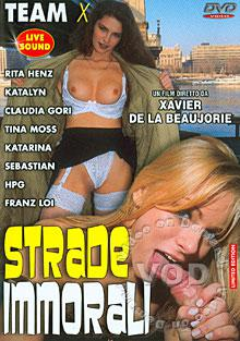 Strade Immorali Box Cover