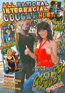 All National Interracial Cougar Hunt #5 Box Cover