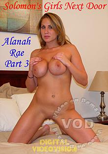 Solomon's Girls Next Door - Alanah Rae Part 3 Box Cover