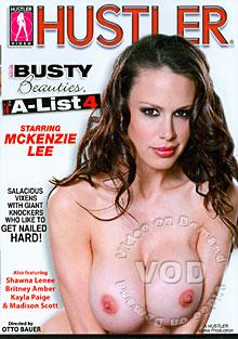 Busty Beauties - The A-List 4 Box Cover