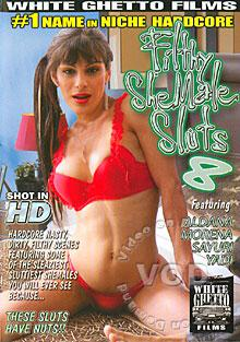 Filthy Shemale Sluts 8 Box Cover