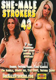 She-Male Strokers 43 Box Cover