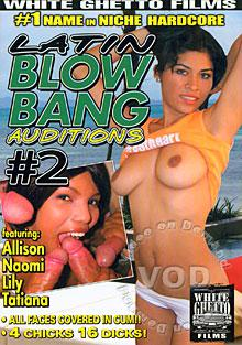 Latin Blow Bang Auditions #2 Box Cover