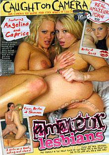 Caught On Camera - Amateur Lesbians Box Cover