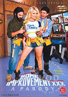 Home Improvement XXX - A Parody (Disc 1) Box Cover