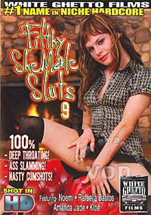 Filthy SheMale Sluts 9 Box Cover