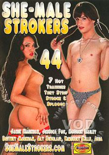 She-Male Strokers 44 Box Cover