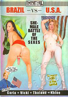 Brazil Vs. U.S.A. - She-Male Battle Of The Sexes Box Cover