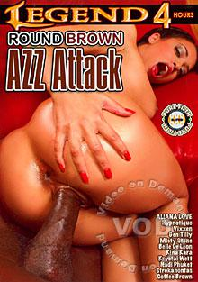 Round Brown Azz Attack Box Cover
