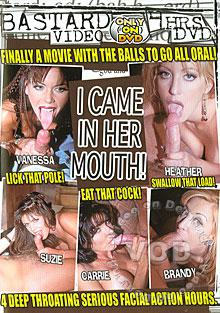 I Came In Her Mouth! Box Cover