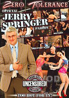 Official Jerry Springer Parody Box Cover