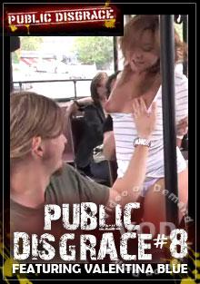 Public Disgrace #8 - Featuring Valentina Blue Box Cover