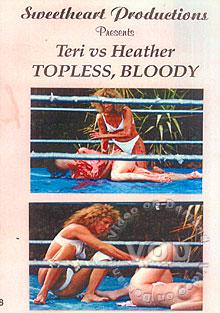 SWT-CMS8: Teri vs. Heather - Topless, Bloody Box Cover