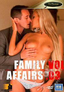 Family Affairs Vol. 3 Box Cover