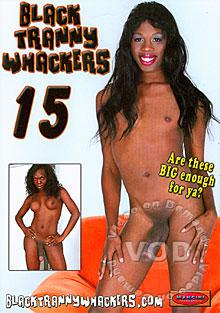 Black Tranny Whackers 15 Box Cover