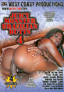 Juicy Monster Brazilian Butts 4 Box Cover