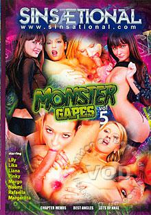 Monster Gapes 5 Box Cover