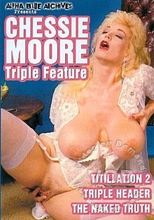 Chessie Moore Triple Feature - Titillation 2 Box Cover