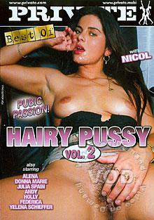 Hairy Pussy Vol. 2 - Pubic Passion Box Cover