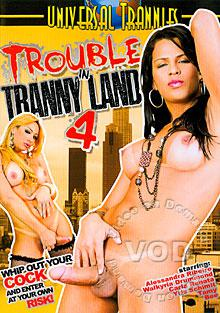 Trouble In Tranny Land 4 Box Cover