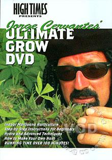 Jorge Cervantes' Ultimate Grow DVD Box Cover