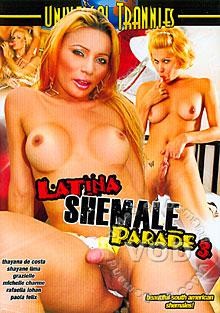 Latina Shemale Parade 3 Box Cover