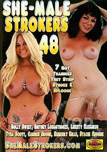 She-Male Strokers 48 Box Cover