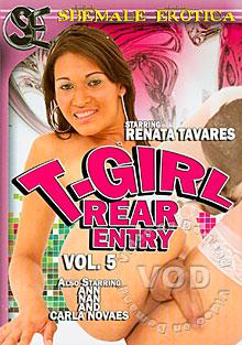 T-Girl Rear Entry Vol. 5 Box Cover