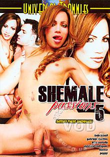 Shemale Passions 5 Box Cover