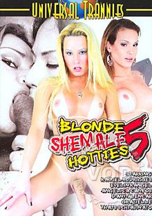Blonde Shemale Hotties 5 Box Cover
