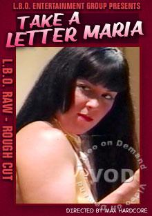 LBO Raw - Take A Letter, Maria Box Cover