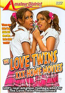 The Love Twins - XXX Home Movies Box Cover