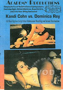 Kandi Cohn Vs. Dominica Rey Box Cover