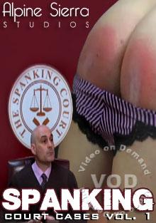 Spanking Court Cases Vol. 1 Box Cover