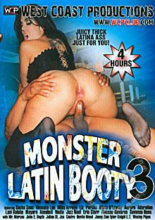 Monster Latin Booty 3 Box Cover - Login to see Back