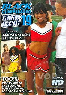 Black Cheerleader Gang Bang 19