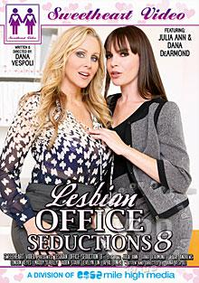 Lesbian Office Seductions 8