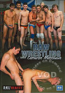 Raw Wrestling With Cameron Matthews Box Cover