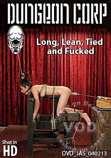 Long Lean Tied And Fucked