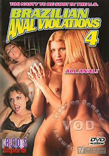 Brazilian Anal Violations 4 Box Cover